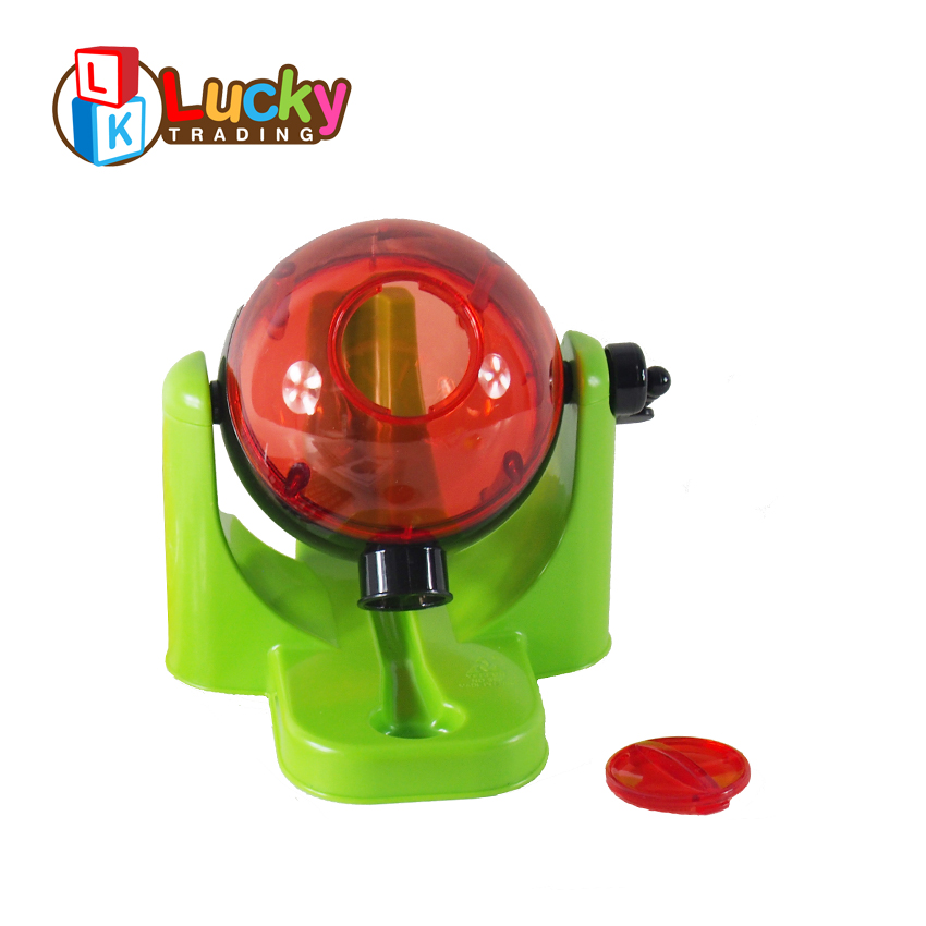 top sale funny learning turntable machine bingo game with plastic card