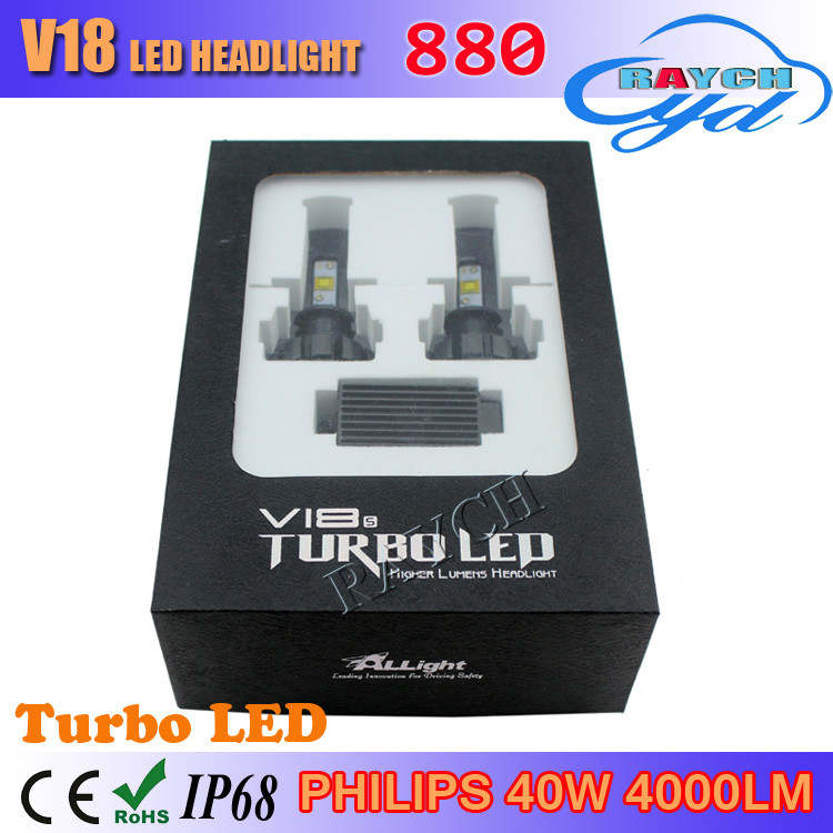 1Set H4 9003 HB2 80w 8000lm For Flip ZES Lumileds Car LED Headlight Kit H/L Dual Beam H7 H11 9005 9006 880 H1 H3 single beam