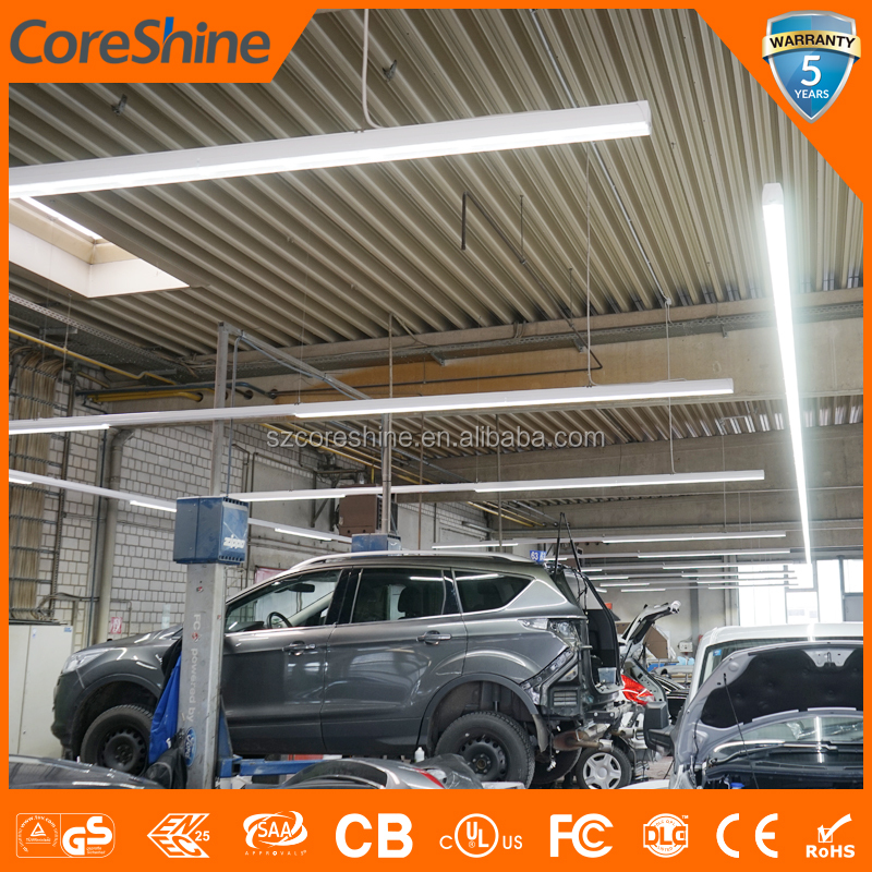 German Ford Car Workshop High Brightness Led Pendant Light Led Linear Trunking System