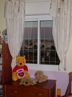 universal gentel look- 100cm max window guard - kids saver - DIY quick and easy install