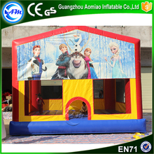 China cheap inflatable mini commercial air jumping bouncy castle