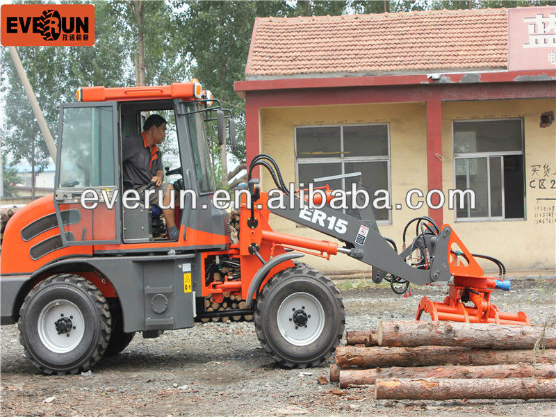 construction machinery 1.5tons mini loader made in china