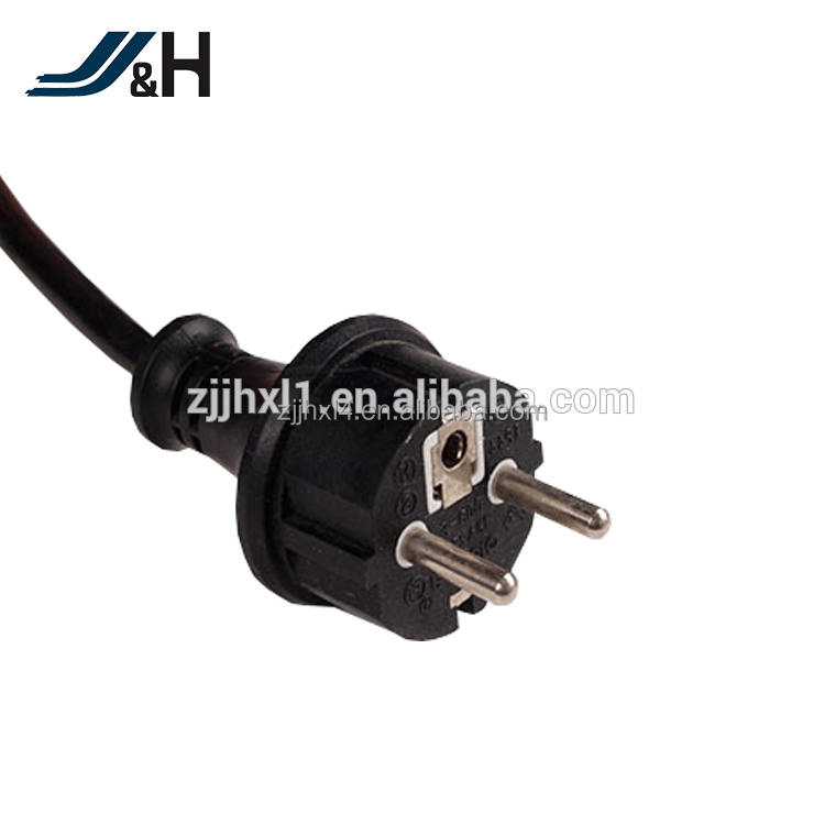 Top Quality European Standard 3 Pin German plug