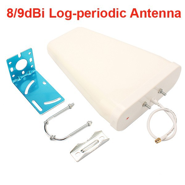 Sunhans log-periodic repeater cell phone gsm signal booster external antenna