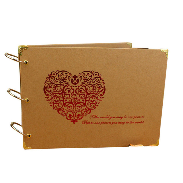 Creative Gifts Wedding Photo Album For Lover Paper 10 Inch Sticky Scrapbook Love