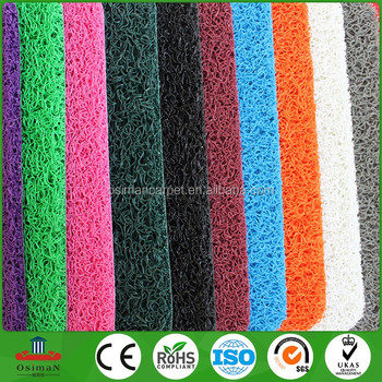 China Manufacturer Popular PVC Plastic Mesh Loop Outdoor Waterproof Anti-slip door Floor Mat & China Manufacturer Popular Pvc Plastic Mesh Loop Outdoor Waterproof ...