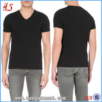 Top 10 Factory Wholesale Blank Men Custom V-Neck TShirt With High Quality By China Men Clothing Manufactory