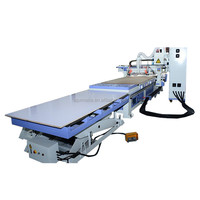 1530 Auto Feeding Cnc Machine For Wood Furniture Making Production Line With ATC