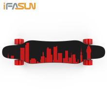 800W Japan Technology 20km distance 90mm PU wheel long board Motor 22 inch skateboard decks wooden E Electric Skateboard