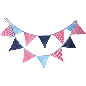 Flags Cotton Cloth Pennant Banner Decoration for Bar Party