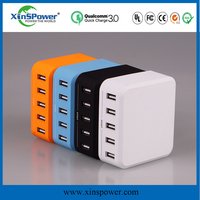 portable car battery charger with 3 port usb car mobile charger 5v 8a ODM EU plug