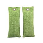 Ecofriendly Bamboo Charcoal Deodorizer Bags Remove Moisture Odor Set of 2