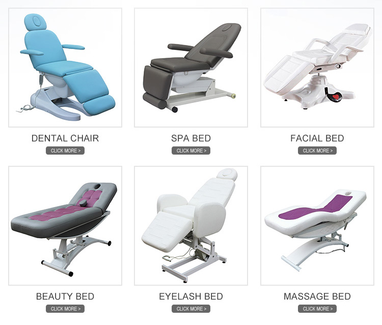 beauty furniture massage table hot sale with manual adjustment 8220