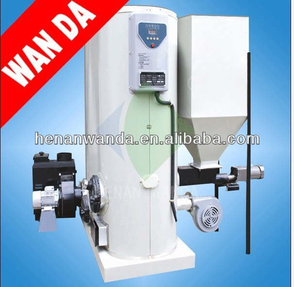 Easy operation wood pellet hot water boiler for home