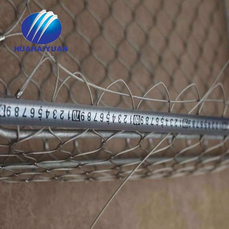 Bird netting zoo netting factory Stainless Steel Cable Rope Mesh