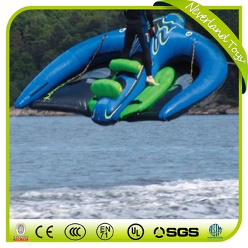 Water Ski Tube Inflatables Flying Manta Ray Inflatable Water Boat