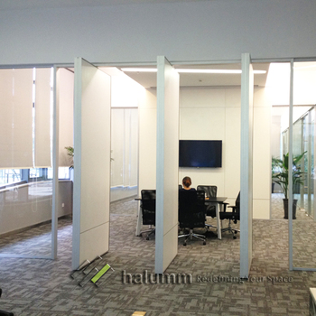 Halumm Banquet Hall Soft Fabric Folding Door Partition