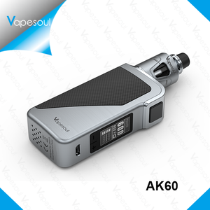 Itsuwa Vapesoul chinese supplier AK60 100% Genuine Variable Voltage Wattage E-Cigarette Mod 60W Box Mods
