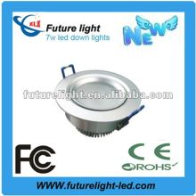 High power 7w led downlight 220v