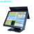 Flat Touch Epos Hardware Windows Dual Touch Screen Pos  Retail Restaurant System Pos Terminal Supermarket Cash