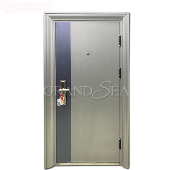 Bulletproof safe stainless entry steel door for house