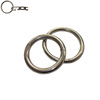 Zinc plated welded round rings O rings