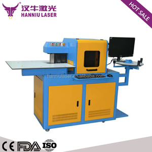 stainless 304 and aluminum material channel letter steel bending machine on sale