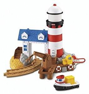 GeoTrax Rail & Road System - Harbor Docks Lighthouse