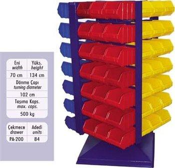 Bon Ds 200 Rotating Storage Bins