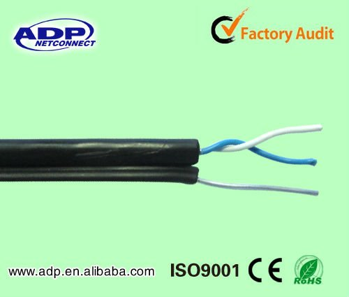 outdoor cable category 5e utp 2 pair cat5e cable with messenger rh alibaba com Phone Jack Wiring Diagram Old Phone Line Wiring