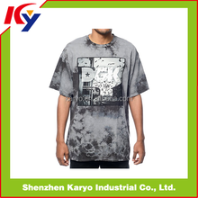 OEM Customized Short Sleeve Digital Dye Sublimated T Shirt,Polyester Fashion Full Sublimation 3d T-shirt Printing