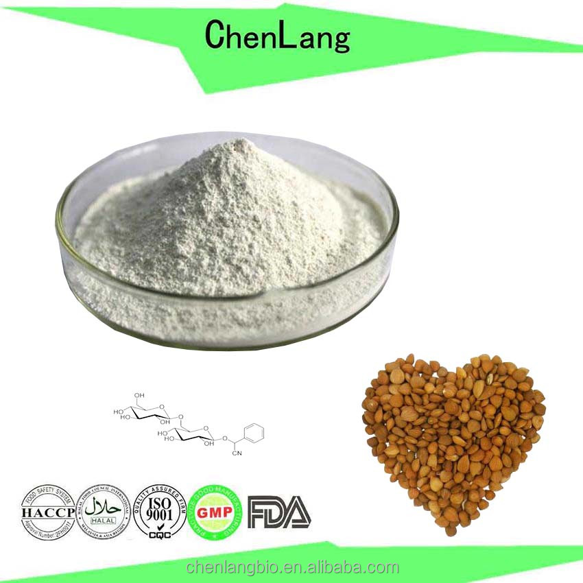 Medicine Grade 10% to 98% Amygdalin Bitter Apricot Seed Extract Almond Milk Powder
