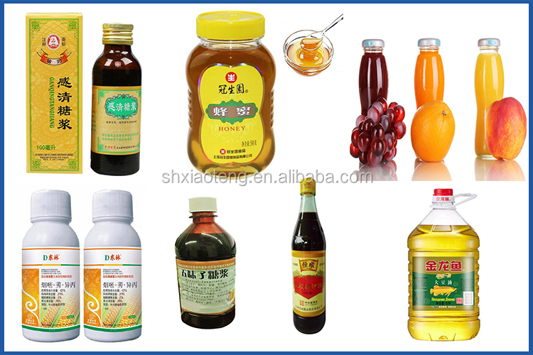 Fruit juice glass bottle honey jar filling and capping machine