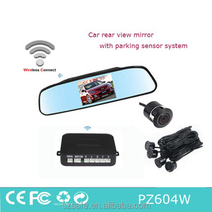 wireless car parking sensor camera system with 4.3inch monitor