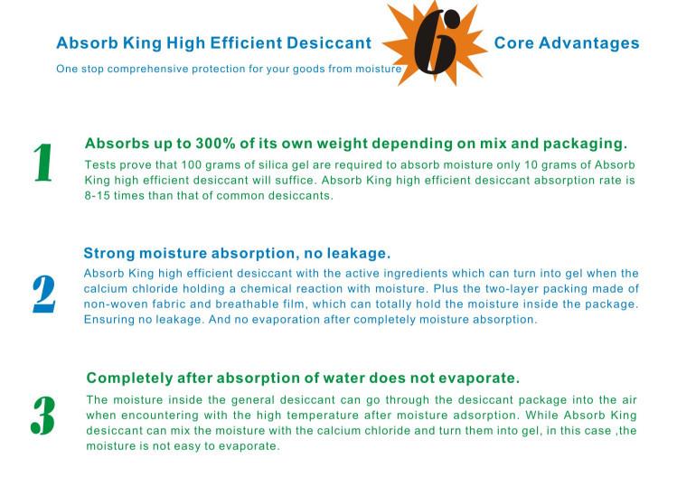 MSDS REACH ROHS DMF Free Powder Desiccant Definition