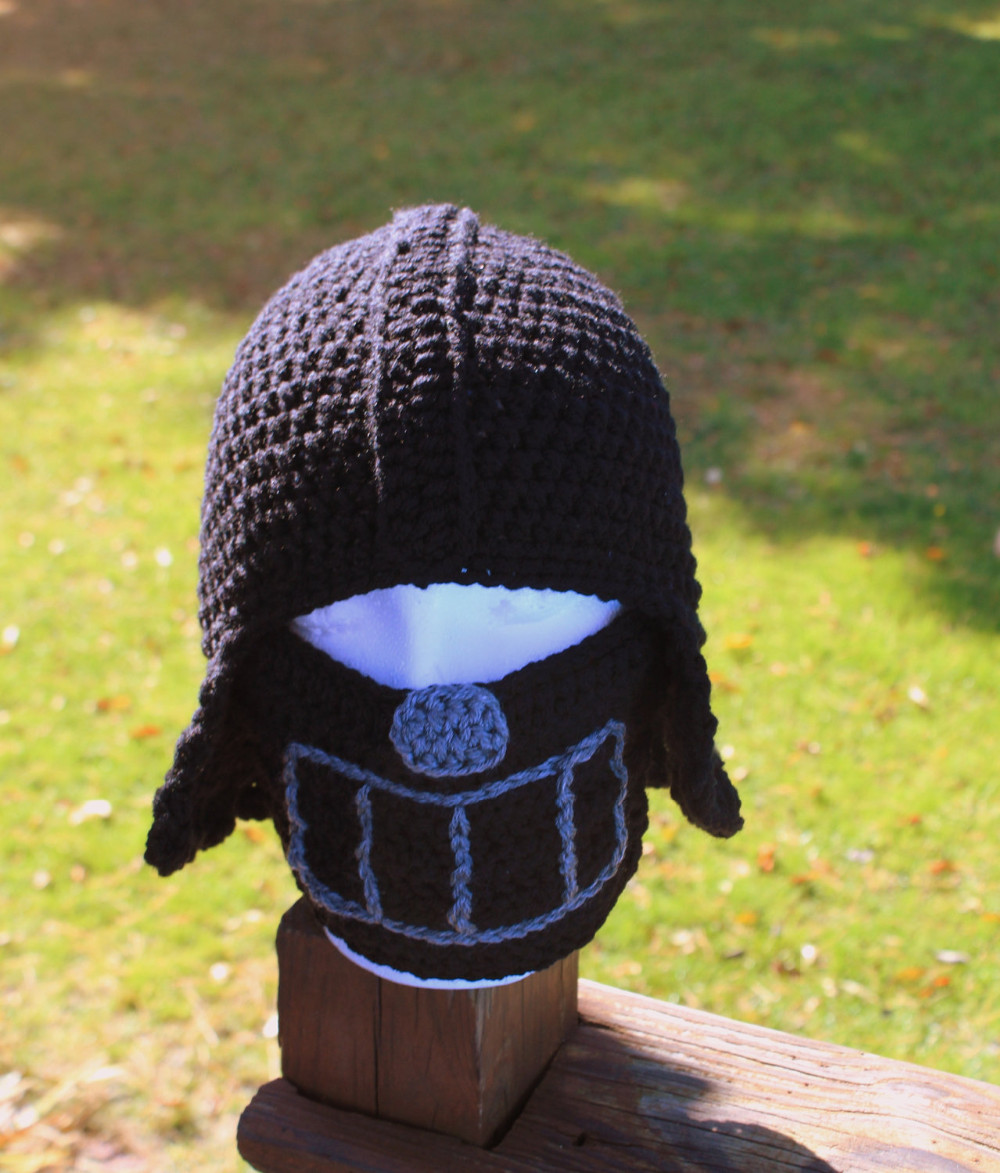Boys Crochet Hat Children S Costume Helmet Baby Beanie Baby Hat For Halloween Crochet Star Wars Hat Crochetcrochet Hat Aliexpress