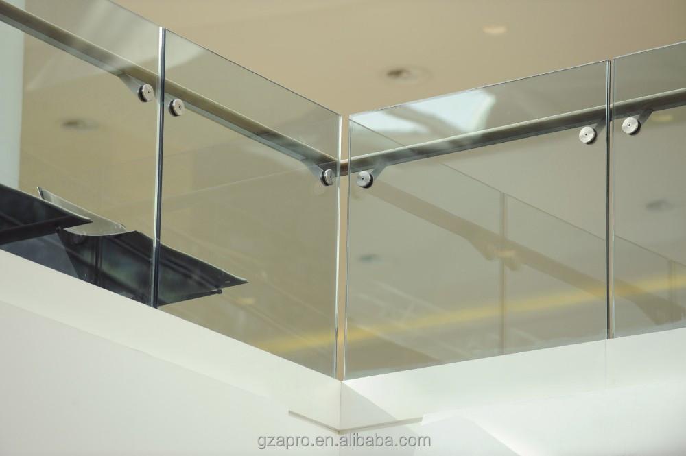 disegno Railing veranda : stile moderno senza cornice corrimano ringhiera balcone per ringhiere ...