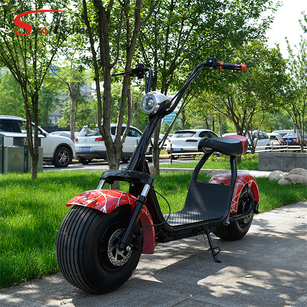 2017 Citycoco Electric Scooter New product 1000W 12Ah 60V lithium battery