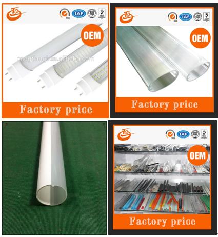 9bf9fe61ecd Extruded Plastic Profile T8 Led Tube Housing For Led Lighting - Buy ...