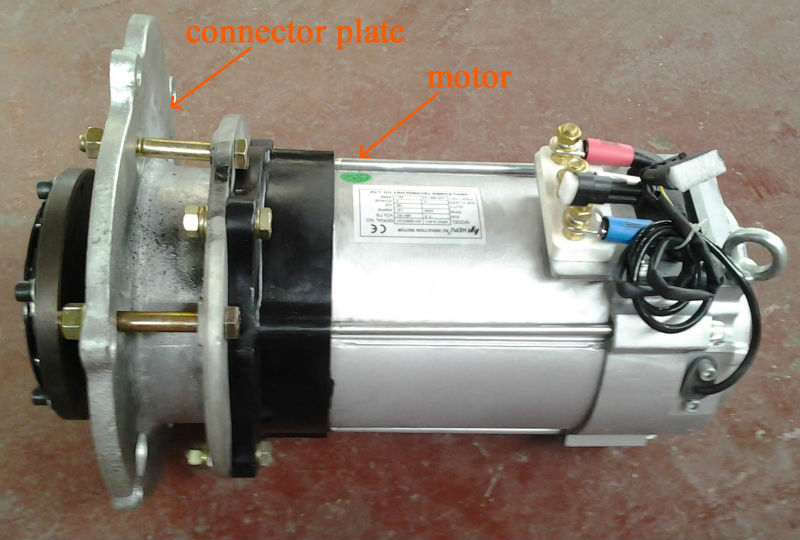 Ac Motor 10kw For Electric Car