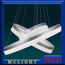 Moderní LED osvětlení – 3 kruhy – různé typy zavěšení