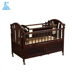 0289B Panel Wood Style Custom Convertible Cribs For Newborn Babies