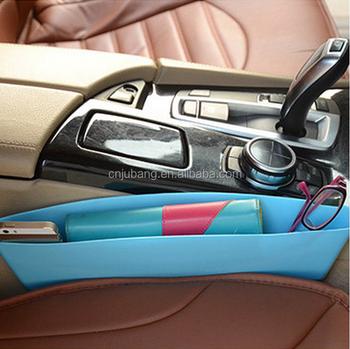Car Crack Seat Pocket Organizer Gap Filler Storage Box