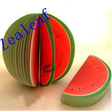 Watermelon Shaped Sticky Notes for Promotion Sticky Notes Hot Selling Sticky Notes Memo Pad