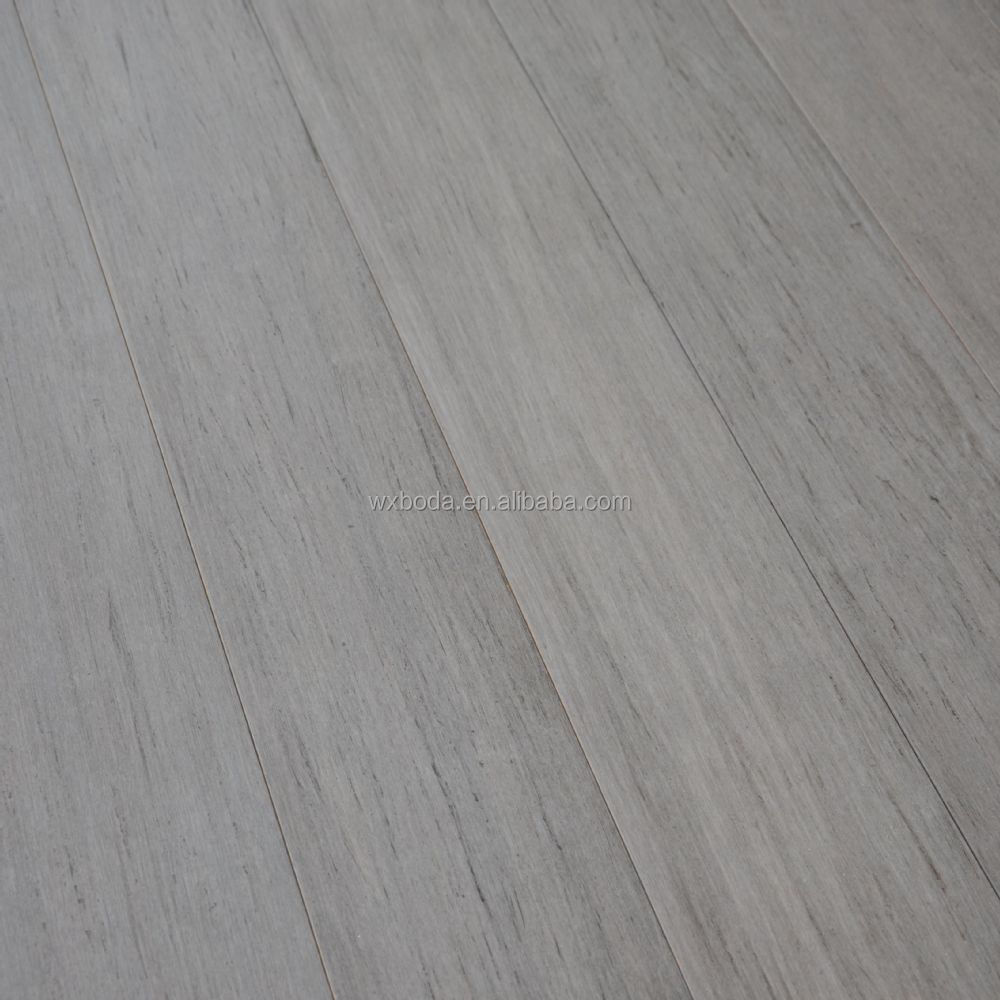 Stained Strand Woven Bamboo Flooring    Logan Grey