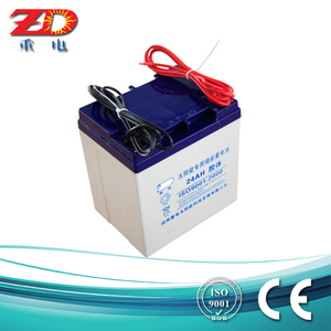 Lead acid battery toyo solar energy battery 12V24AH