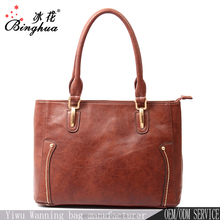 C-0010 Guangzhou Trade Fair new design 2017 newly trend fashion lady tote handbags