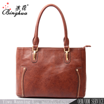 C-0010 Yiwu Ladies Handbags Manufacturers Wholesale 2018 New Style Fashion  Latest Design Leather Ladies 4a99365cc0cb9