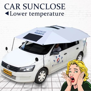 Sunclose multi ufnction 98% UV-proof car parking cover