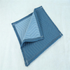 MQ030 Waterproof Dark Blue and Light Blue Polyester Durable Furniture Pad Moving Blanket